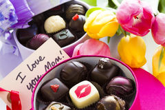 Assorted truffles Royalty Free Stock Photo