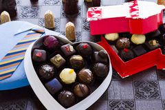 Assorted truffles Royalty Free Stock Image