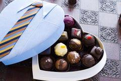 Assorted truffles Stock Photos