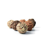 Assorted Truffles Royalty Free Stock Photography