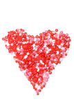Assorted valentines candy heart royalty free stock image