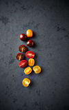 Assorted varieties of cherry tomato Royalty Free Stock Photos