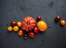Assorted varieties of tomato Royalty Free Stock Images
