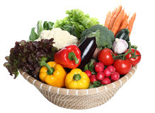 Assorted Vegetables Royalty Free Stock Images