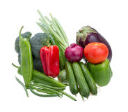 Assorted vegetables. Stock Photo