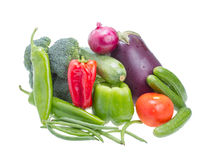 Assorted vegetables. Stock Photos