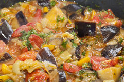 Assorted vegetables stew Royalty Free Stock Photos