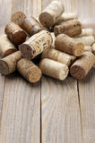 Assorted wine corks Stock Photo