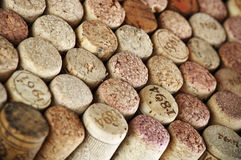 Assorted wine corks Stock Images