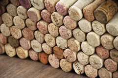 Assorted wine corks Stock Image