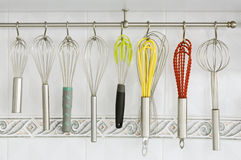 Assorted Wire Beaters Stock Images