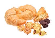 Assortement of bread and pastry Stock Photo