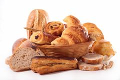Assortement of bread and pastry Stock Image