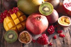Assortement of fruit Stock Photos
