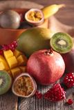 Assortement of fruit Stock Photos