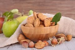 Assortement of nuts Royalty Free Stock Image