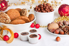 Assortes sweets Royalty Free Stock Images
