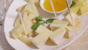 Assorti cheese stock footage