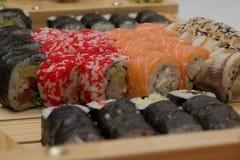 Assorti de sushi Image libre de droits