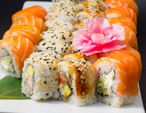 Assorti de sushi Image stock