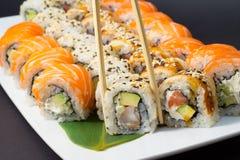Assorti de sushi Photos libres de droits