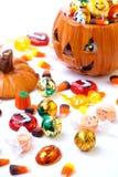 Assorti del caramelo de Víspera de Todos los Santos Foto de archivo libre de regalías