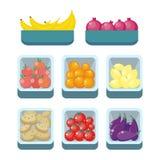 Assortiment d'épicerie Nutrition saine Photo libre de droits