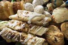 Assortiment de biscuit Photos stock