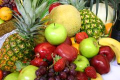 Assortiment de fruit Image libre de droits