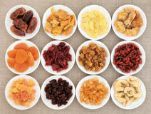 Assortiment de fruits secs Photos stock