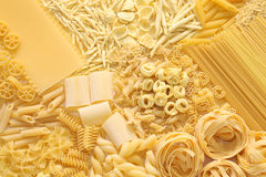 Assortiment de pâtes Image stock