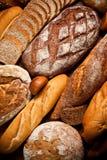 Assortiment de pain cuit au four Photographie stock libre de droits