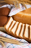 Assortiment de pain savoureux Photos stock