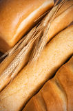Assortiment de pain savoureux Photographie stock