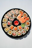 Assortiment de sushi Photos libres de droits