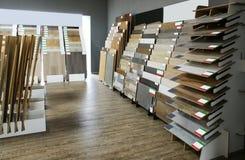 Assortiment des échantillons de plancher image stock