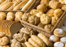 Assortiment des articles de boulangerie Image stock