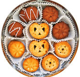 Assortiment des biscuits images stock