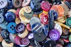 Assortiment des boutons colorés Photographie stock libre de droits