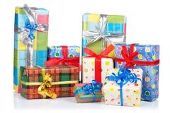 Assortiment des cadres de cadeau Photos libres de droits