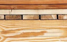 Assortiment des conseils en bois Photo libre de droits
