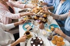 Assortiment des desserts Photos libres de droits