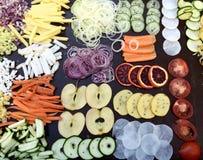 Assortiment des fruits et légumes Photo libre de droits