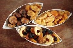 Assortiment des fruits secs Photographie stock
