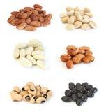 Assortiment des haricots Photo stock