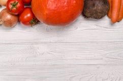 Assortiment des légumes frais Photo stock