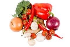 Légumes frais mélangés de ferme Images stock