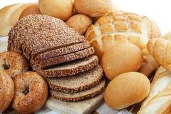 Assortiment des pains Photographie stock
