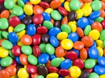 Assortiment des sucreries de chocolat colorées Photographie stock