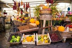 Assortiment végétal coloré au marché Photo libre de droits